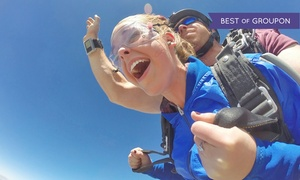 Piedmont Skydiving: Tandem-Skydiving for One or Two with $20 Credit Towards Photos and Videos at Piedmont Skydiving (Up to 27% Off)