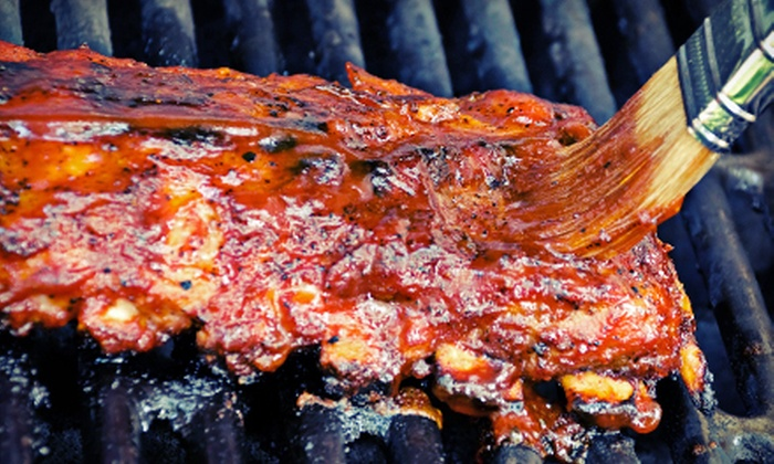 Red's Backwoods BBQ - Boca Raton: Barbecue Dinner for Two or Four at Red's Backwoods BBQ (Up to 55% Off)