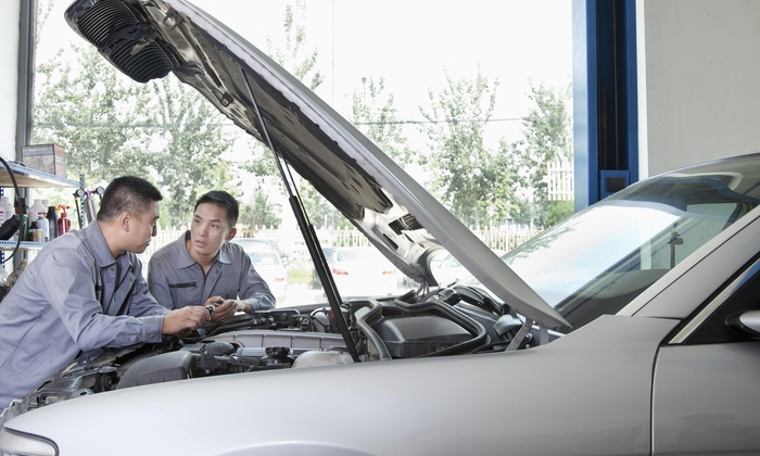 Car Guys Automotive Service - Canyon Gate: $125 for $255 Groupon — Car Guys Automotive Service