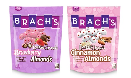 Brach's Double Crunch Almonds (6-Pack). Multiple Flavors Available.