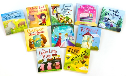 Set of 10 Fairy Tale Board Books