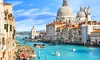 ✈ Venice  2 or 3 Nights with Return Flights, Breakfast and Gondola Ride at Choice of 4* Hotels*
