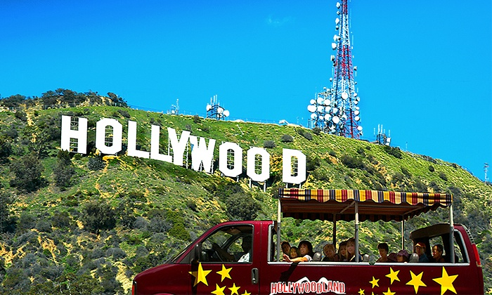 Hollywoodland Tours - Hollywood: Hollywood, Hollywood Sign, and Star-Homes Tours from Hollywoodland Tours (Up to 58% Off). Six Options Available.