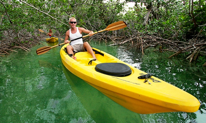 Key West Eco Tours - Geiger Key: Two- or Four-Hour Paddle Board or Kayak Rental for Two or Four at Key West Eco Tours (Up to 58% Off)
