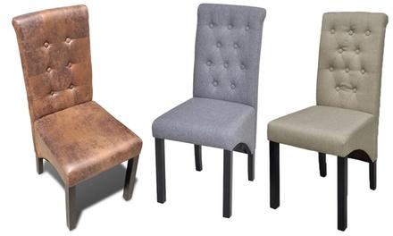 Lot de 2, 4 ou 6 chaises antiques pour salle à manger