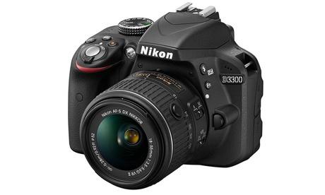 Reflex Nikon D3300 18-55 VR II