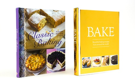 Baking Cookbook Set