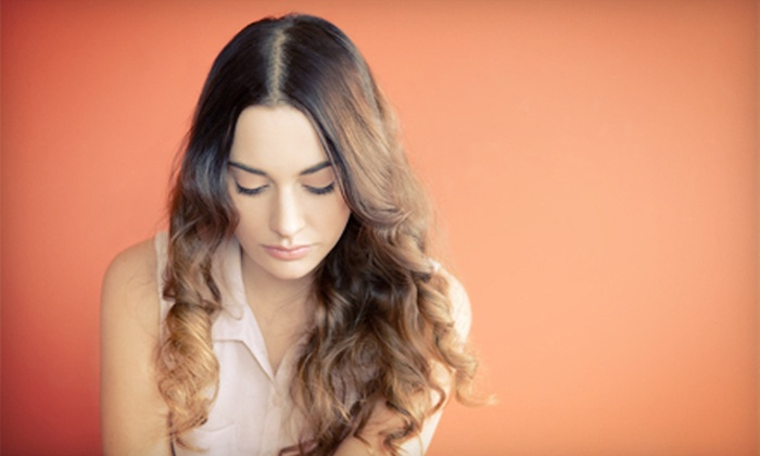 Shear Beauty - Shear Beauty: Haircut, Style, and Blowout with Optional Full Color or Partial or Full Highlights at Shear Beauty (Up to 65% Off)