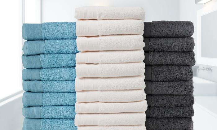 4 à 12 serviettes de bain | groupon
