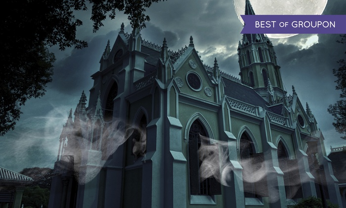 Witches Brew Tours - New Orleans: Haunted Ghost Tour or Haunted Cemetery No. 1 Tour for 1, 2, or 4 from Witches Brew Tours (Up to 55% Off)