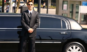 Boston North Limousine: One-Way or Roundtrip Logan Airport Transportation in a Sedan or SUV from Boston North Limousine (Up to 59% Off)