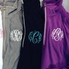 Up to 53% Off Monogrammed Fleece Pullovers