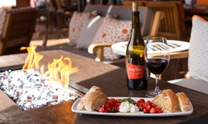 The Living Room Wine Cafe & Lounge: $17 for $30 worth of Wine, Tapas, and Burgers at The Living Room Wine Café & Lounge