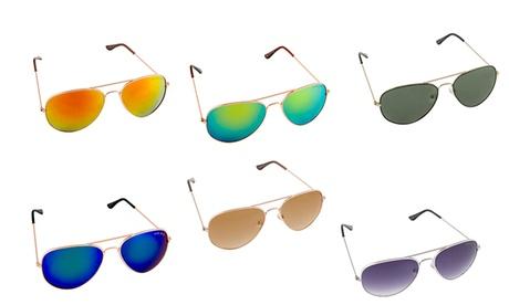 3 paia di occhiali da sole Bilderberg Aviator. Vari set disponibili