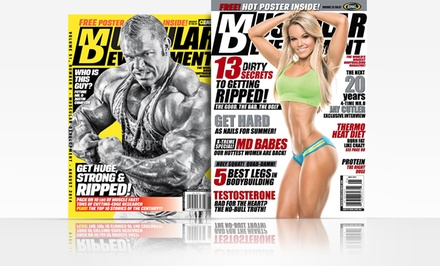 1-Year, 12-Issue Subscription to Muscular Development
