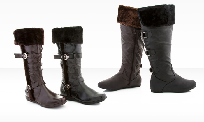 Rasolli Denise and Jane Riding Boots: $29.99 for One Pair of Rasolli Denise or Jane Riding Boots ($99 List Price). Multiple Styles. Free Shipping and Returns.