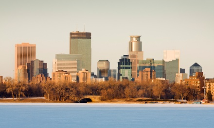 Stay for Two or Four at Crowne Plaza Minneapolis Northstar Downtown in Minneapolis, MN; Dates into March