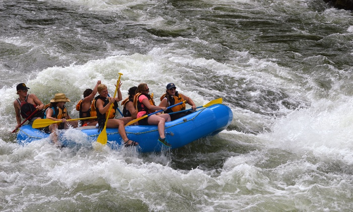 Wiley E. Waters - Superior: Whitewater-Rafting Trip with Food and Beverages for Two or Six from Wiley E. Waters (Up to 47% Off)