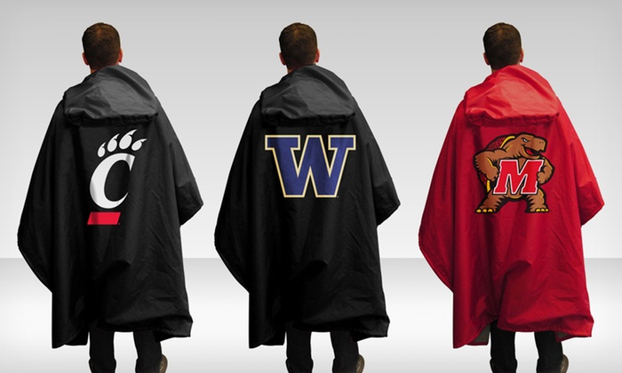 Ncaa 3 In 1 Poncho Groupon Goods
