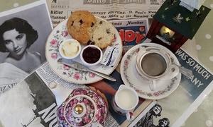 Tealicious Vintage Tea Room: Cream Tea for Two or Four at Tealicious Vintage Tea Room (Up to 52% Off)