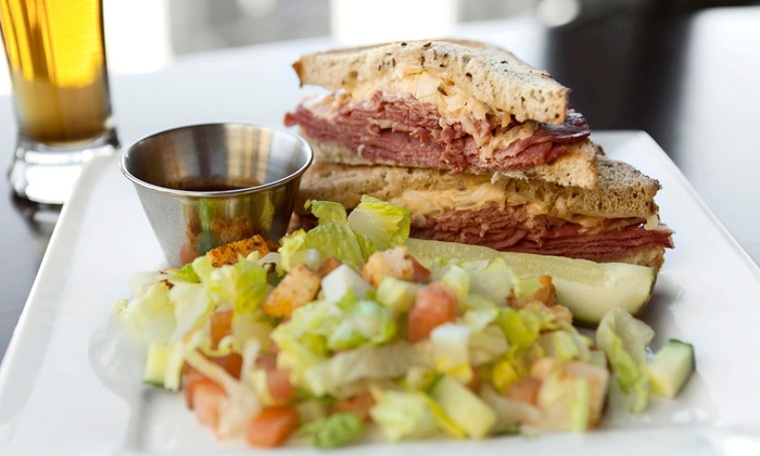 Daily Post  - Novi: Casual American Dinner for Two or Four with Drinks at Daily Post (45% Off)