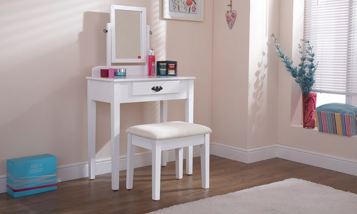 Cotswold-Inspired Poppy Dressing Table Set from £84.98 (55% OFF)