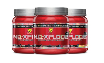 30-Serving Container of N.O.-Xplode 2.0 Supplements