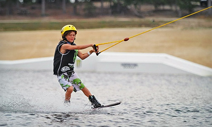 Hexagon Wake Park - Banner: Wakeboard Summer Camp, Coaching Session with Cable Pass, or Two-Hour Cable Pass at Hexagon Wake Park (Up to 60% Off)