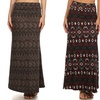 3-Pack of Women's Tummy-Control Maxi Skirts