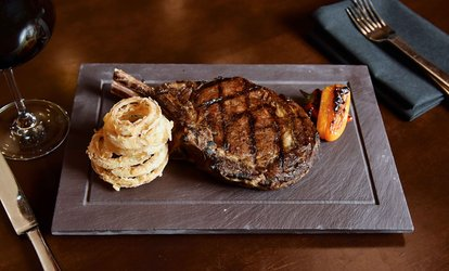 image for <strong>Steakhouse</strong> Cuisine at Cove <strong>Steakhouse</strong> (48% Off)