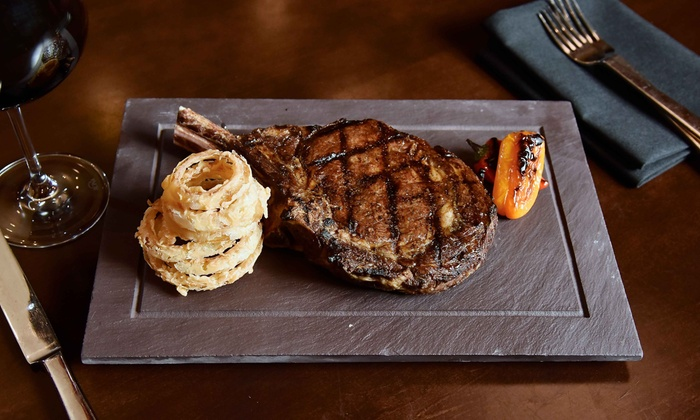 Cove Steakhouse - The Cove Steakhouse & Raw Bar at Harrah's Philly: Steakhouse Fare, Free Play and Valet Parking at Harrah's (Up to 47% Off). Two Options Available.