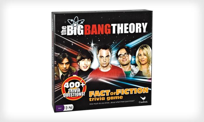 """Big Bang Theory"" Trivia Game: $11 for a ""Big Bang Theory"" Trivia Game ($19.99 List Price). Free Returns."