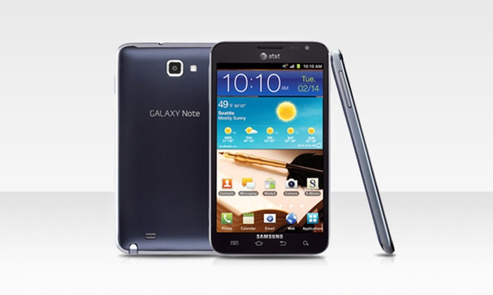 AT&T Samsung Note i717 Unlocked GSM Smartphone: $319.99 for AT&T Samsung Note i717 Unlocked GSM Smartphone in Carbon Blue ($469 List Price). Free Shipping and Returns.