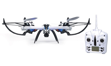 4.5-Channel 2.4GHz Prowler Camera RC Spy Drone with 720p HD Picture and Video Camera