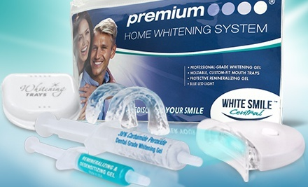 $25 for Deluxe Home Teeth-Whitening Kit from White Smile Central ($116.95 Value)