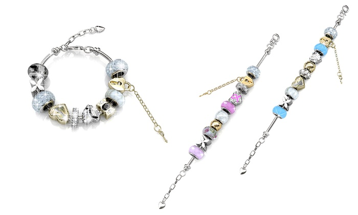 Her Jewellery: $19 for a White Gold-Plated Charm Bracelet (Don't Pay $65.90)