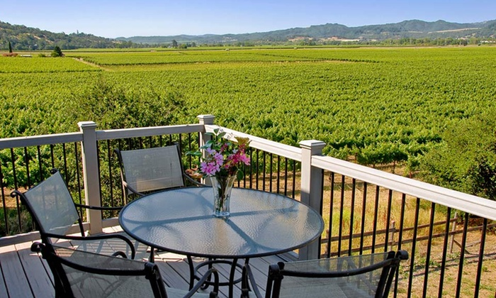 Auberge on the Vineyard - Cloverdale, CA: 2-Night Stay with Winery Passes at Auberge on the Vineyard in Sonoma County, CA