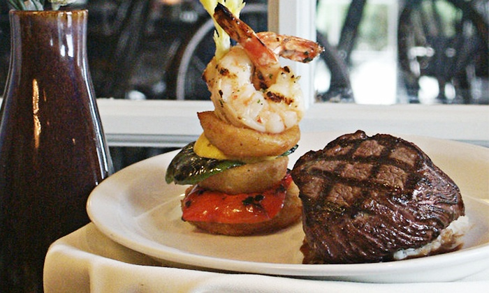 Library Restaurant & Pub - Park Fletcher: $35 for $60 Worth of Fine American Cuisine at The Library Restaurant & Pub