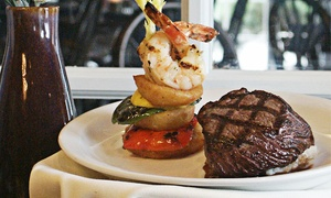 Library Restaurant & Pub: $35 for $60 Worth of Fine American Cuisine at The Library Restaurant & Pub