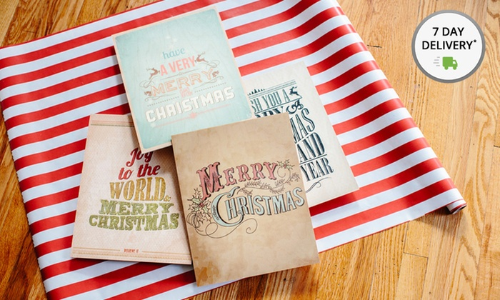 Holiday-Themed Prints on Wood: Holiday-Themed Prints on Wood. Multiple Styles Available. Free Returns.