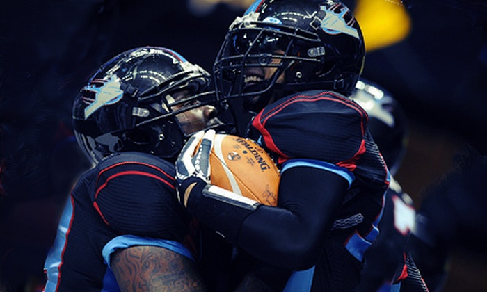 Kansas City Command Arena Football - The Downtown Loop: $22 to See Kansas City Command Arena Football at Sprint Center on May 5, May 26, or June 2 ($54.60 Value)