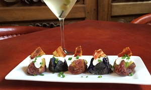 Poco Mas!: $25 for Two Drinks and Two Tapas at Poco Mas! ($50 Value)