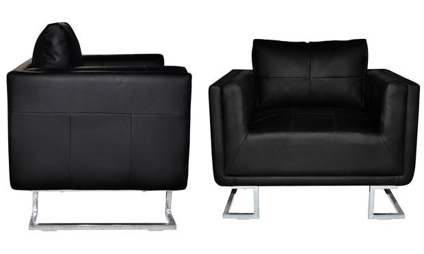 kunstleder sessel groupon goods. Black Bedroom Furniture Sets. Home Design Ideas