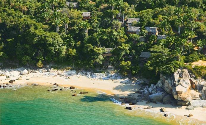 Eco-Friendly Yoga Retreat on Beach in Mexico
