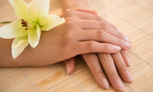 Fossi Hair & Beauty: Gelish Manicure or Pedicure, or Both at Fossi Hair & Beauty (Up to 72% Off)