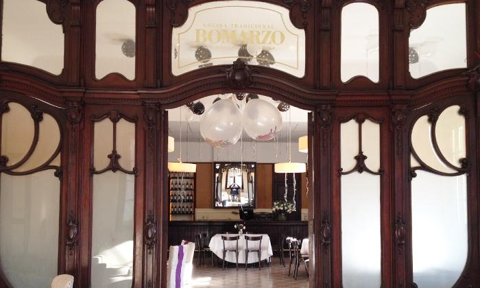 Bomarzo - Bomarzo: Desde $389 por almuerzo o cena para dos o cuatro en Bomarzo