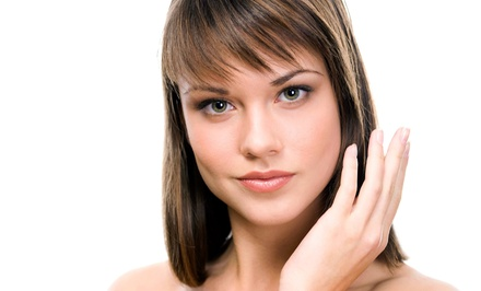 Haircut, Shampoo, and Blow-Dry with Optional Full Color or Partial Highlights at Fashion Motives (Up to 65% Off)
