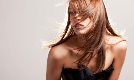 Haircut and Highlights with Optional Deep-Conditioning Treatment at Salon Couture (Up to 65% Off)