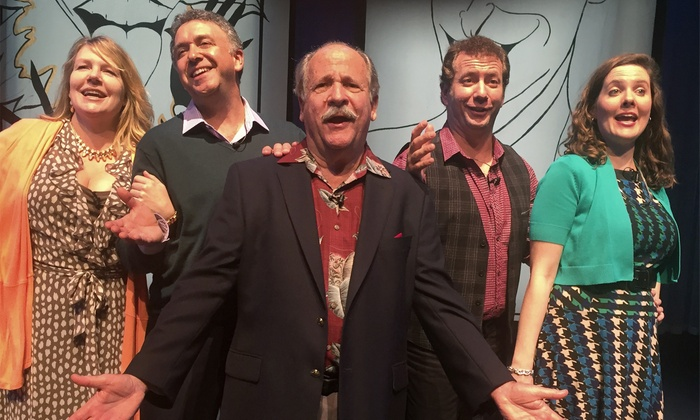 """Old Jews Telling Jokes""  - Coral Springs Center for the Arts: ""Old Jews Telling Jokes!"" on April 3 at 4 p.m. or 7:30 p.m."