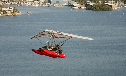 $119 for 30-Minute Flight Lesson on Sea & Sky Cygnet Amphibious Aircraft from Duckwing Triking ($230 Value)